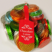 Milk Chocolate UK Coins Net 400g